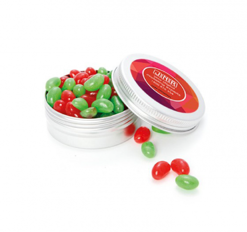 Medium Twist Tin with Mini Jelly Beans