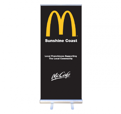 Economy Retractable Banner