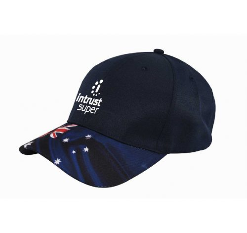6 Panel Breathable Polyester Twill Cap