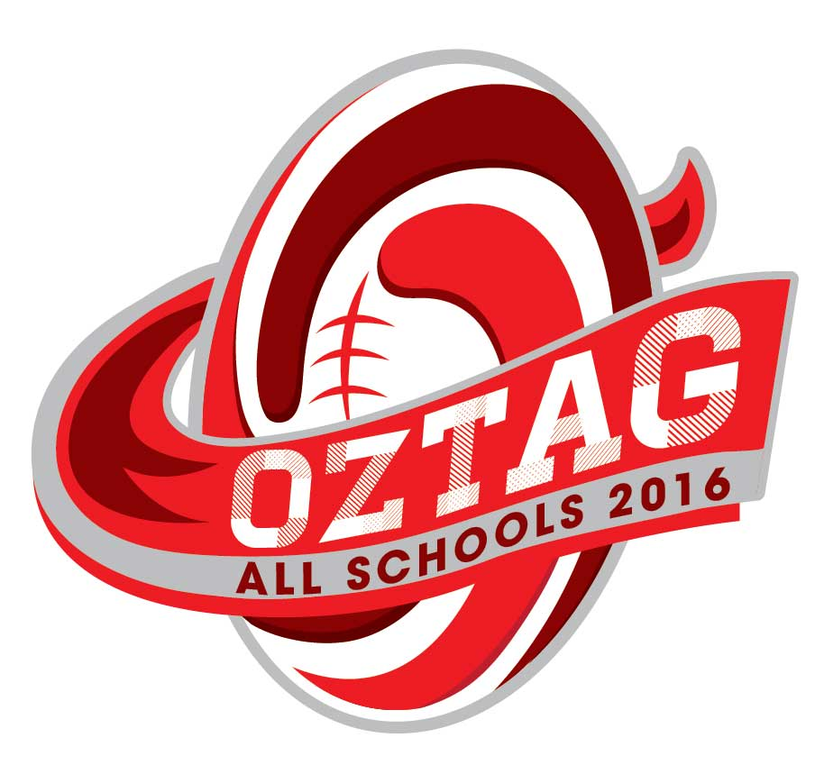 Oztag All Schools Logo