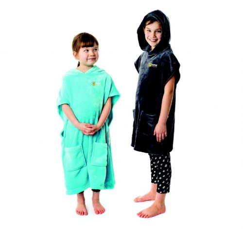 Kids Microfibree Hooded Poncho