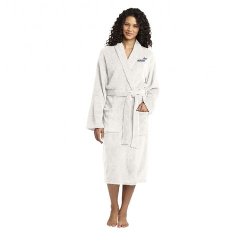Plush Microfleece Robe