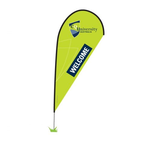 Tear Drop Banner - Eco
