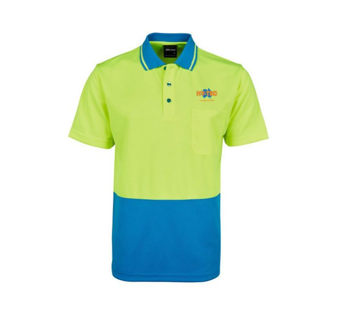 Adults and Kids Hi Vis Non Cuff Traditional Polo