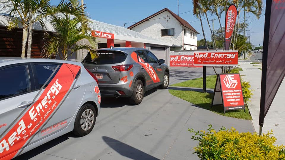 Red Energy Promotions - Gold Coast Showroom